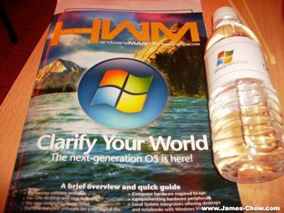 Magazine and Water